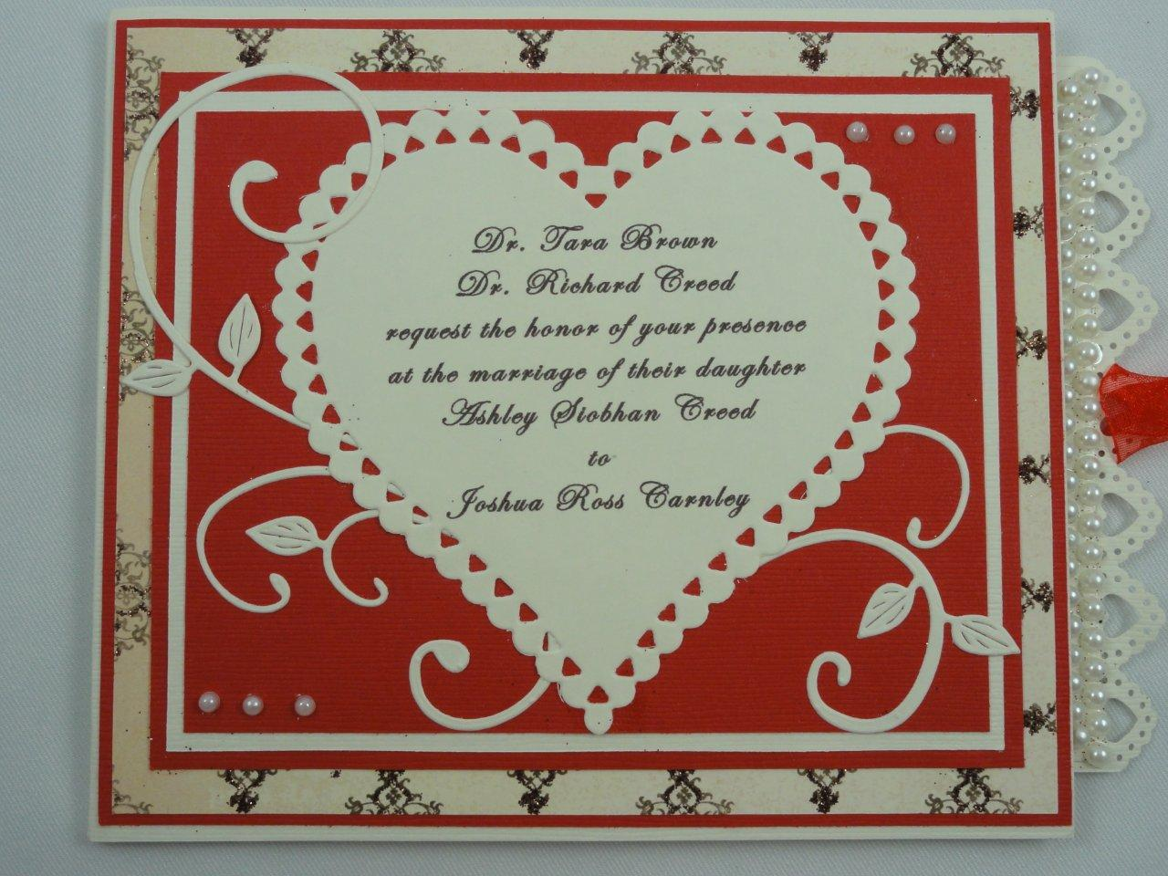 Ashley\'s wedding invitations, thank you cards, and save-the-date ...