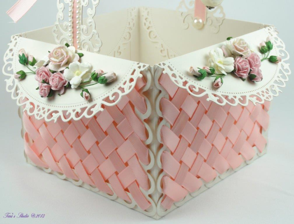 Tara's Card Studio Pink Basket Feb 2013 Img 7