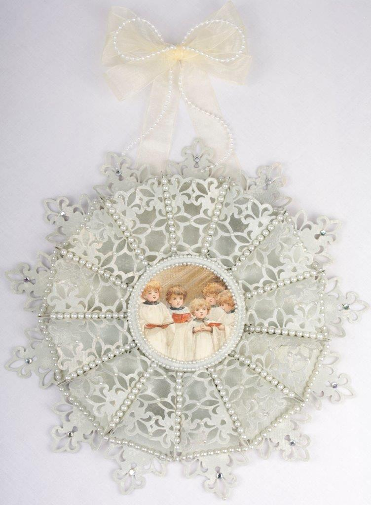 Snowflake wreath Tara's Craft Studio img 2