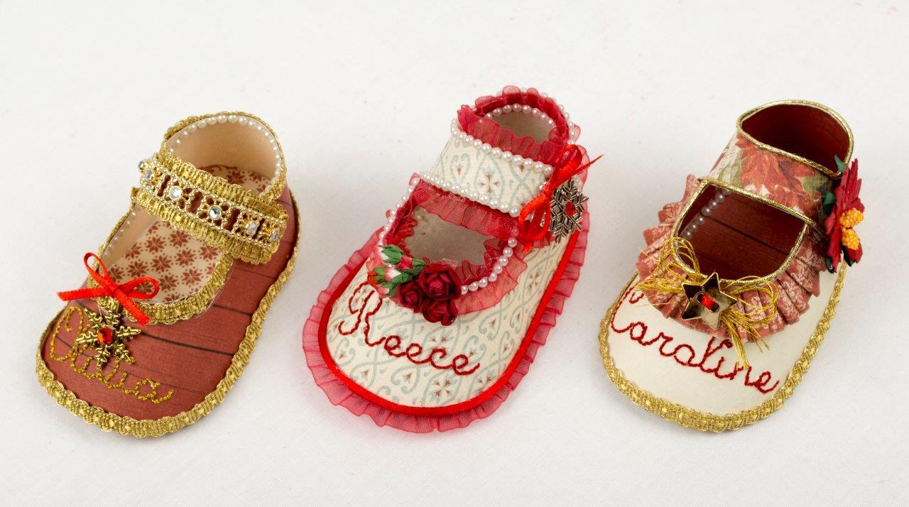 Tara's Studio Christmas Shoes Girls Img 5