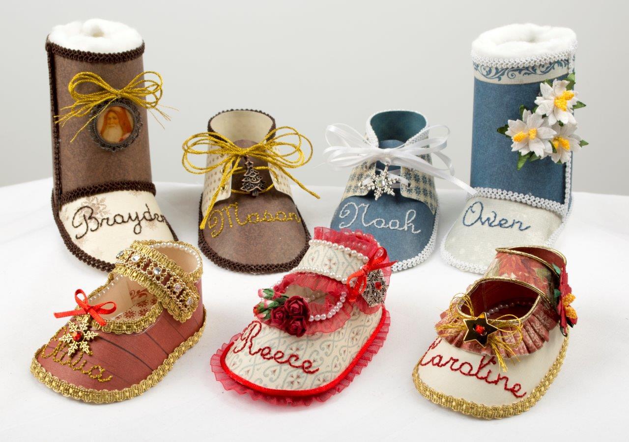 Tara's Studio Christmas Shoes Girls Img 7