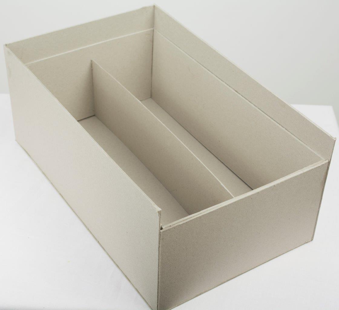 Как сделать коробку для бокалов