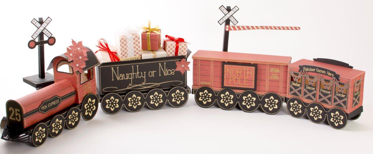 Tara's Studio Christmas Train img 2